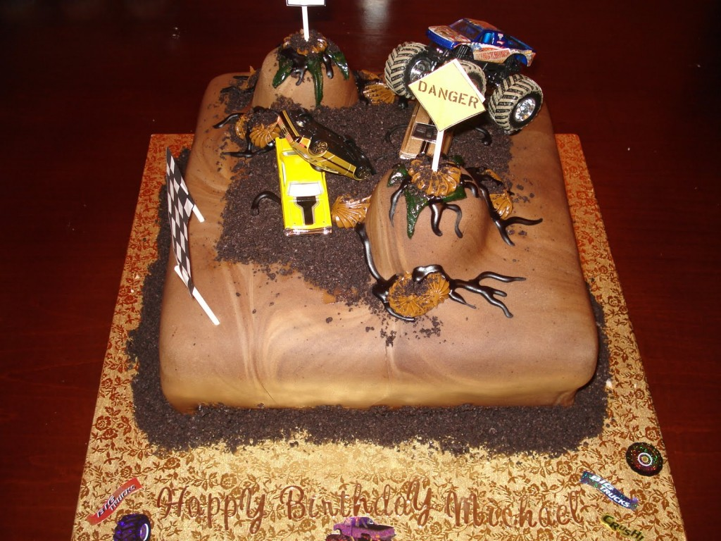 Monster Truck Cake Pictures
