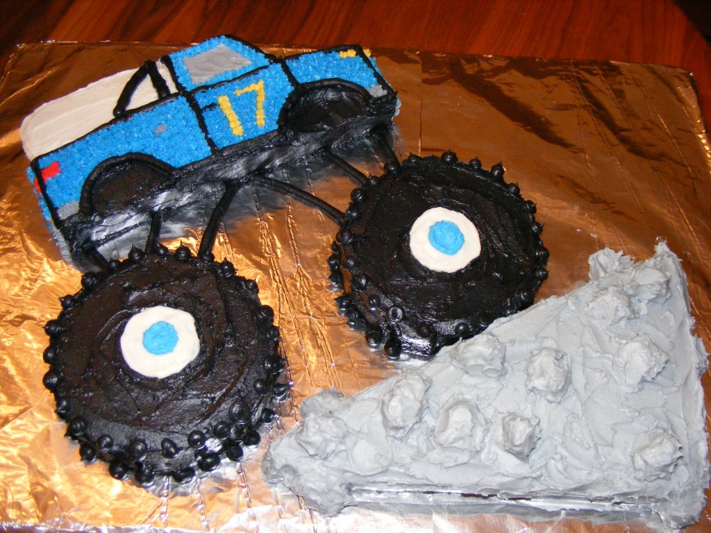 Monster Truck Cake Topper