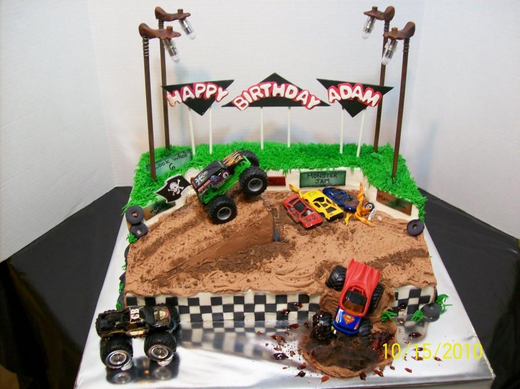 Monster Truck Cakes