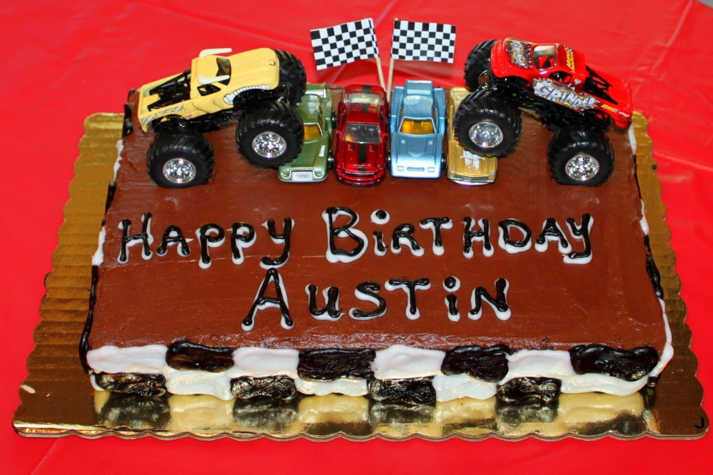Monster Truck Cakes Photos