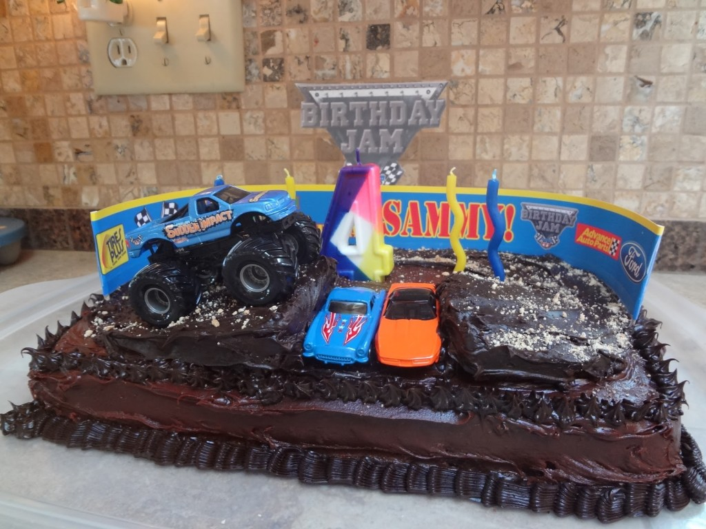 Monster Trucks Cake Pictures