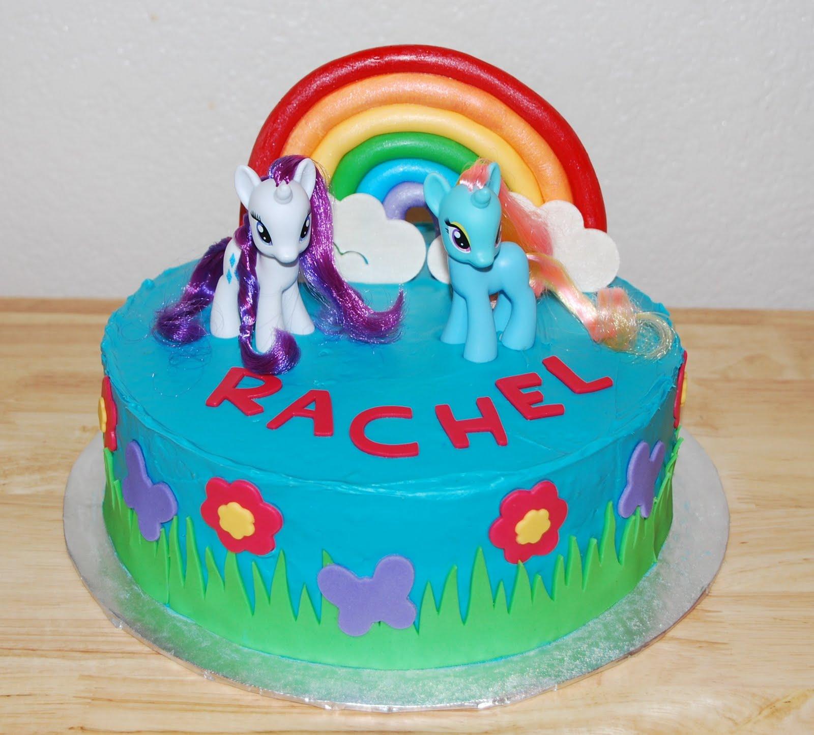 Strange My Little Pony Cakes Decoration Ideas Little Birthday Cakes Funny Birthday Cards Online Kookostrdamsfinfo