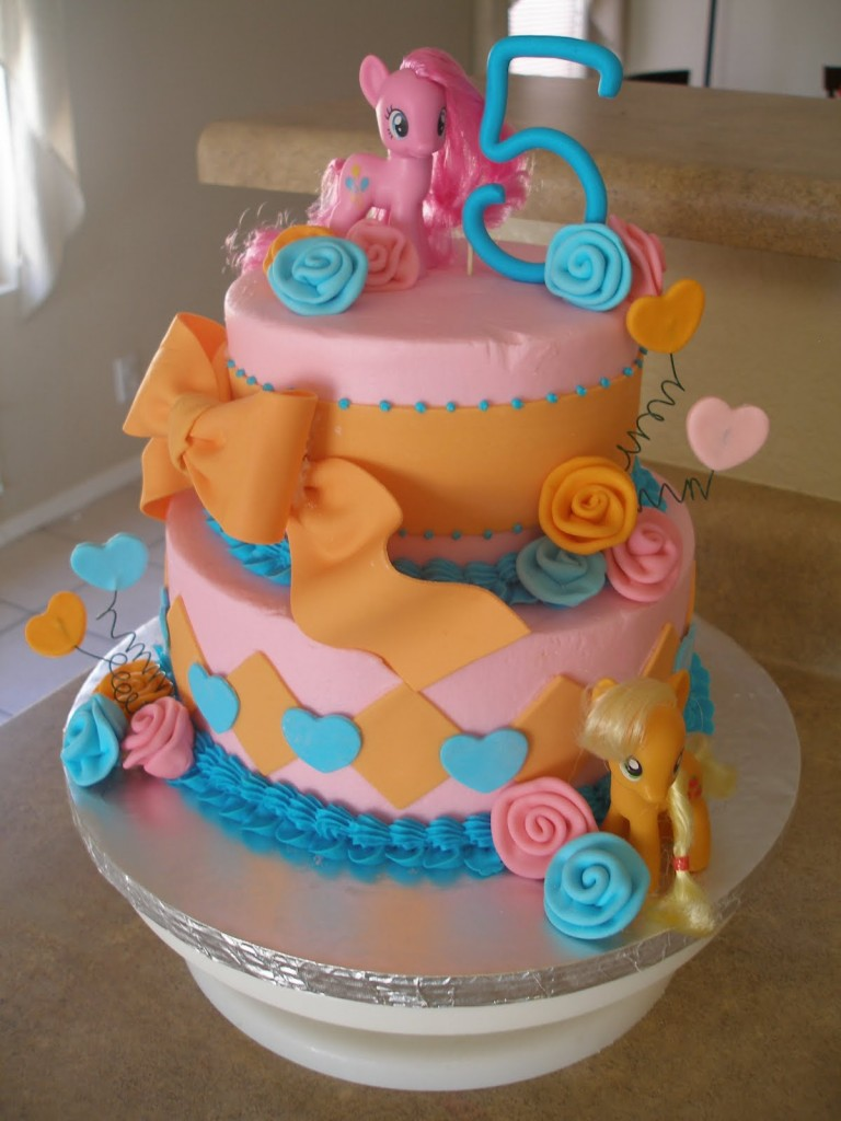 My Little Pony Birthday Cakes