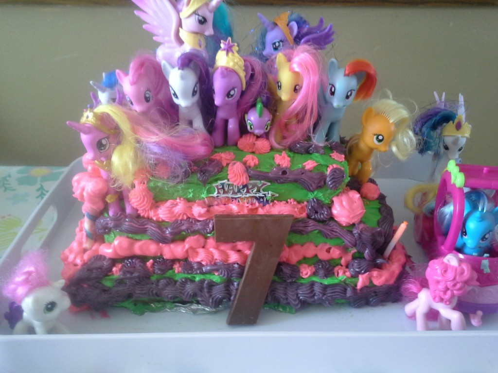 My Little Pony Cake Design