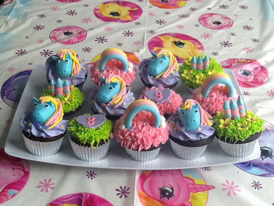 My Little Pony Cup Cakes