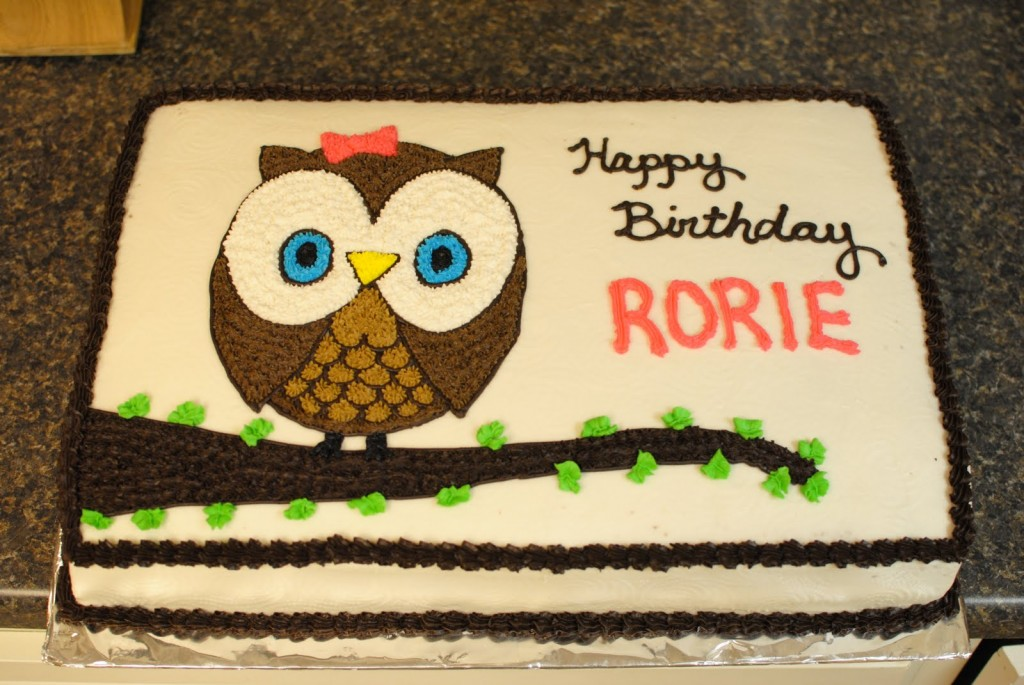 Owl Cake Pictures