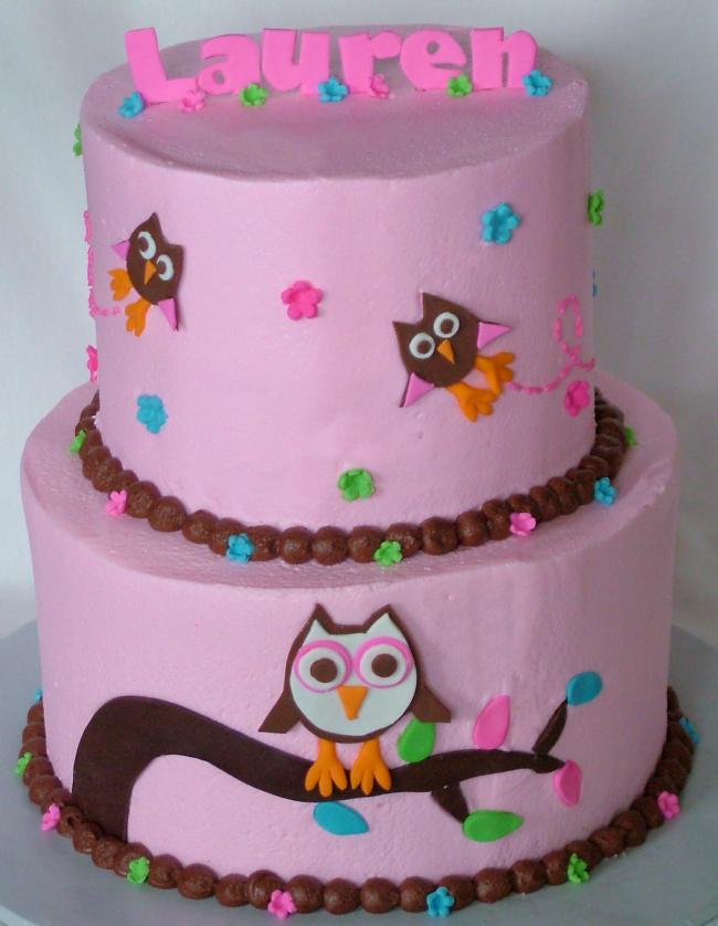 Owl Cake Template
