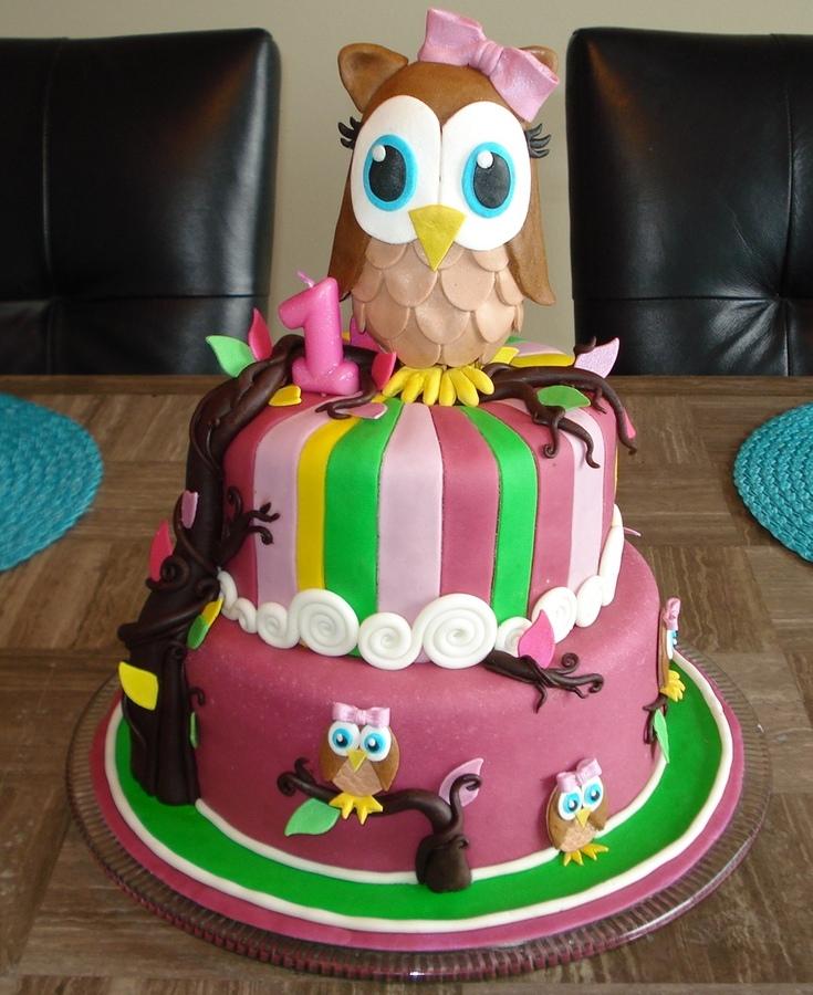 Owl Cakes Designs
