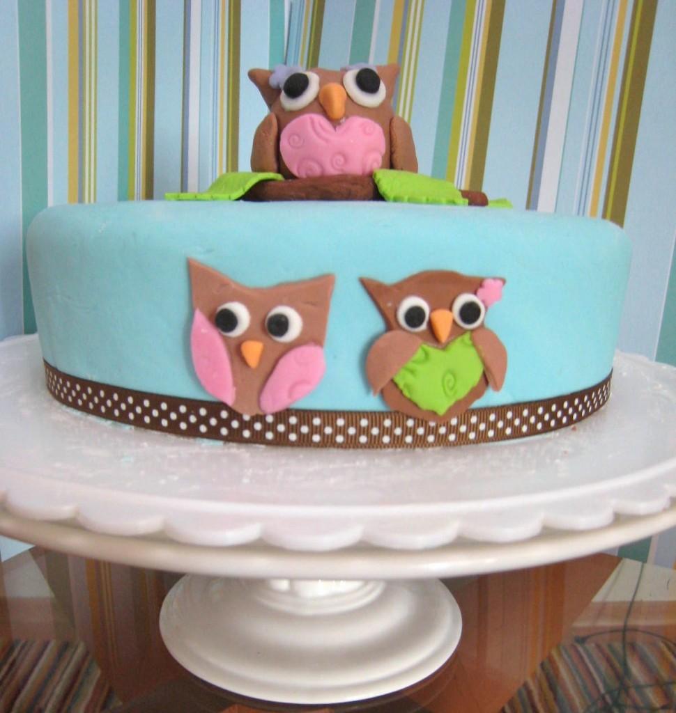 Owl Diaper Cakes