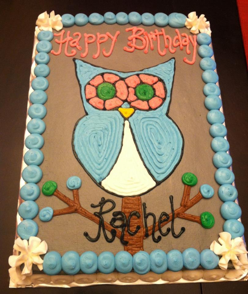 Owl Themed Cakes
