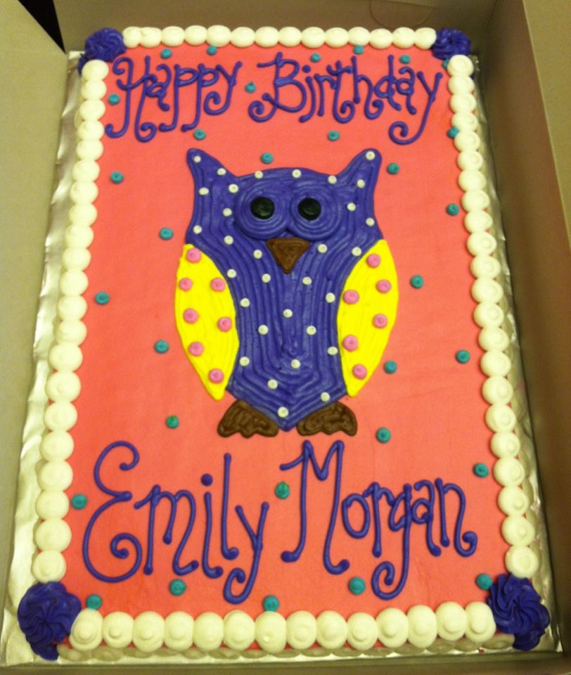 Owls Cakes