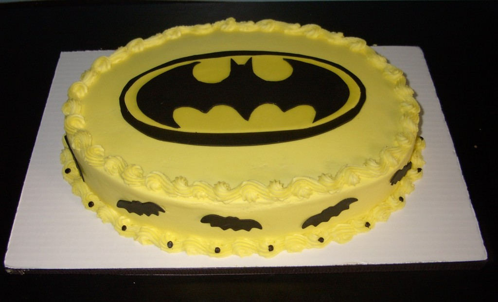 Photos of Batman Birthday Cakes