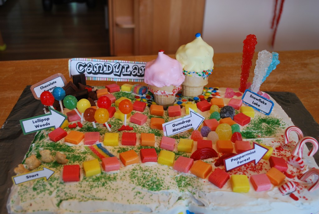 Photos of Candyland Cakes