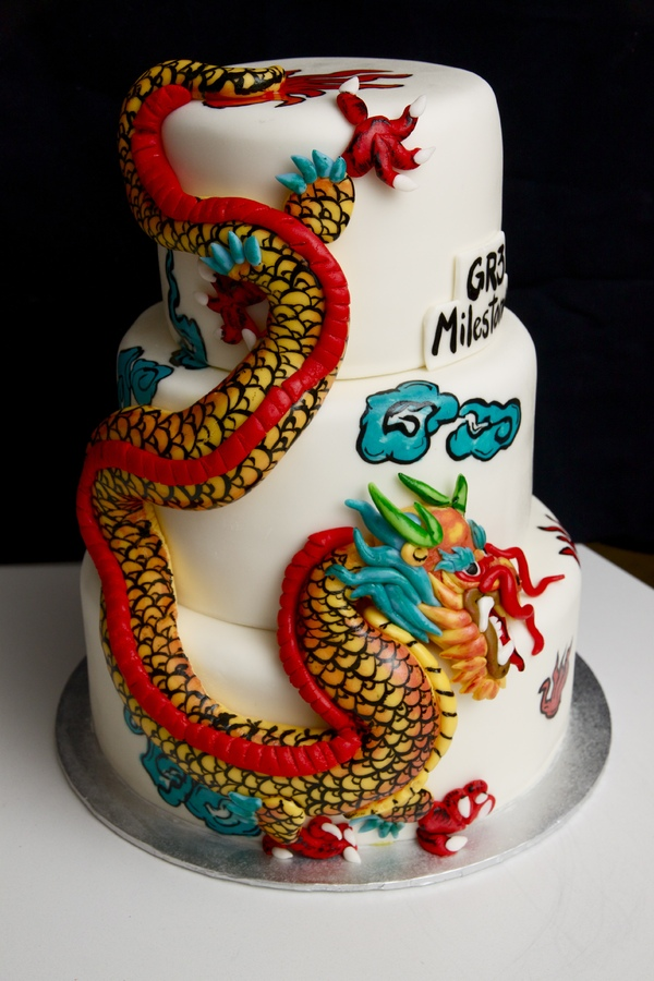 Photos of Dragon Cakes