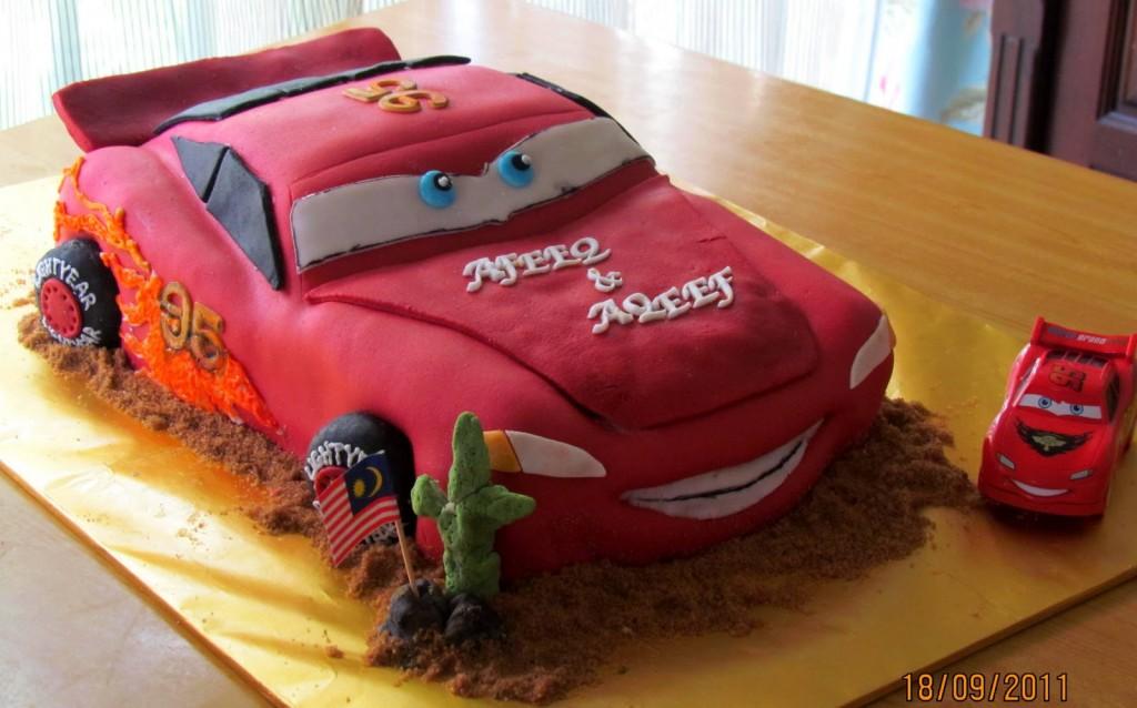 Photos of Lightning Mcqueen Cake