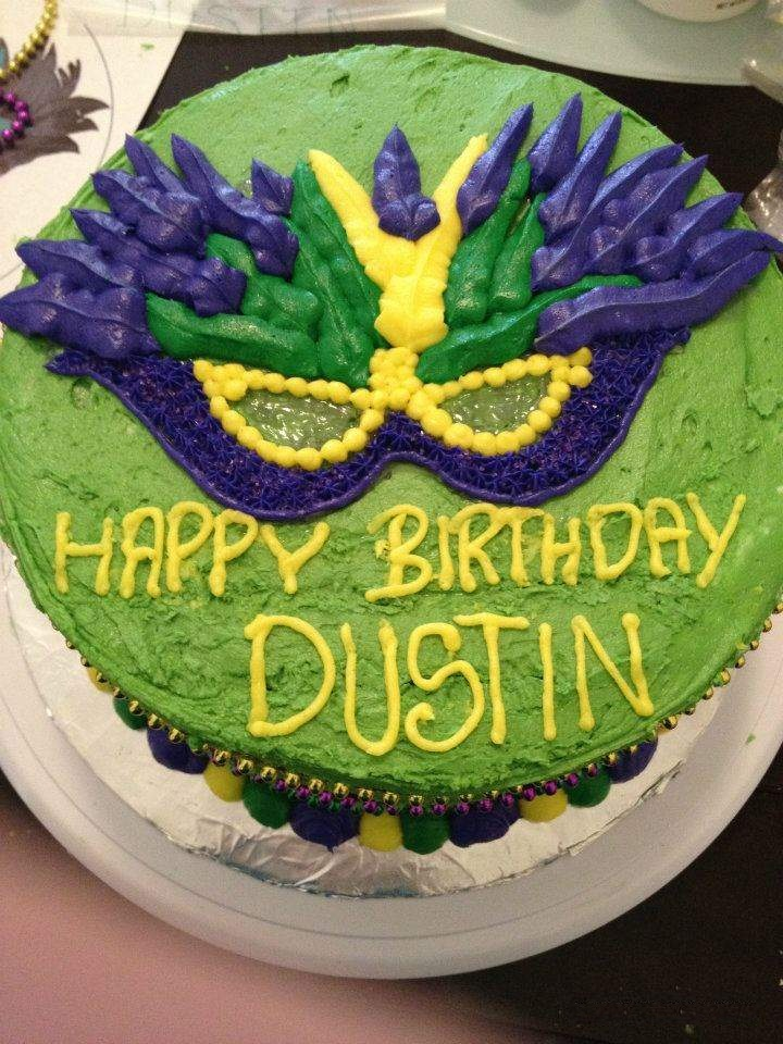 Photos of Mardi Gras Cakes