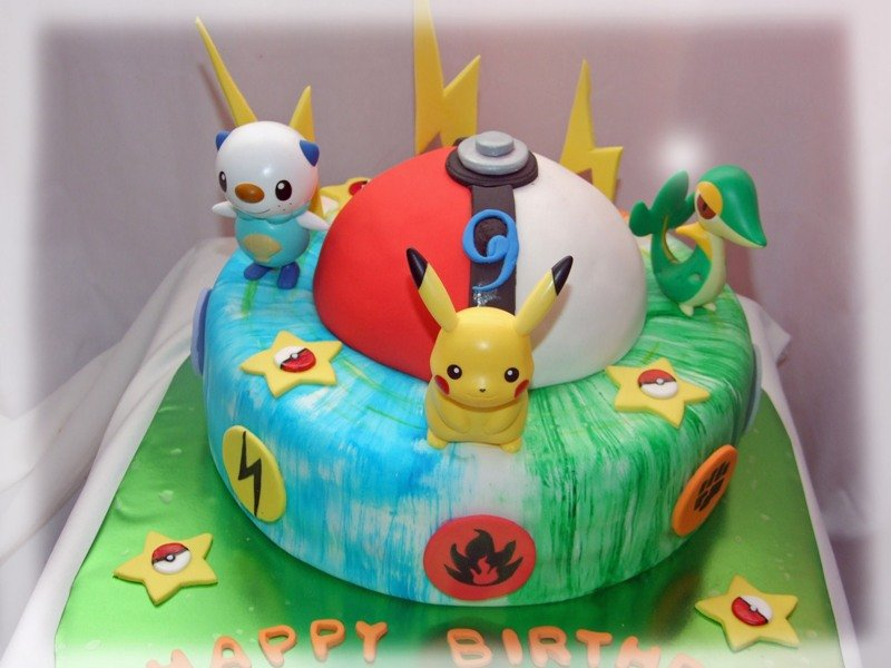 Photos of Pokemon Cakes