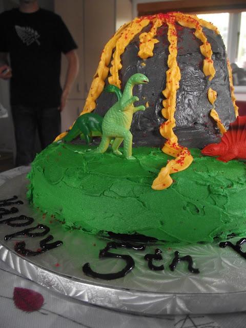 Photos of Volcano Cakes