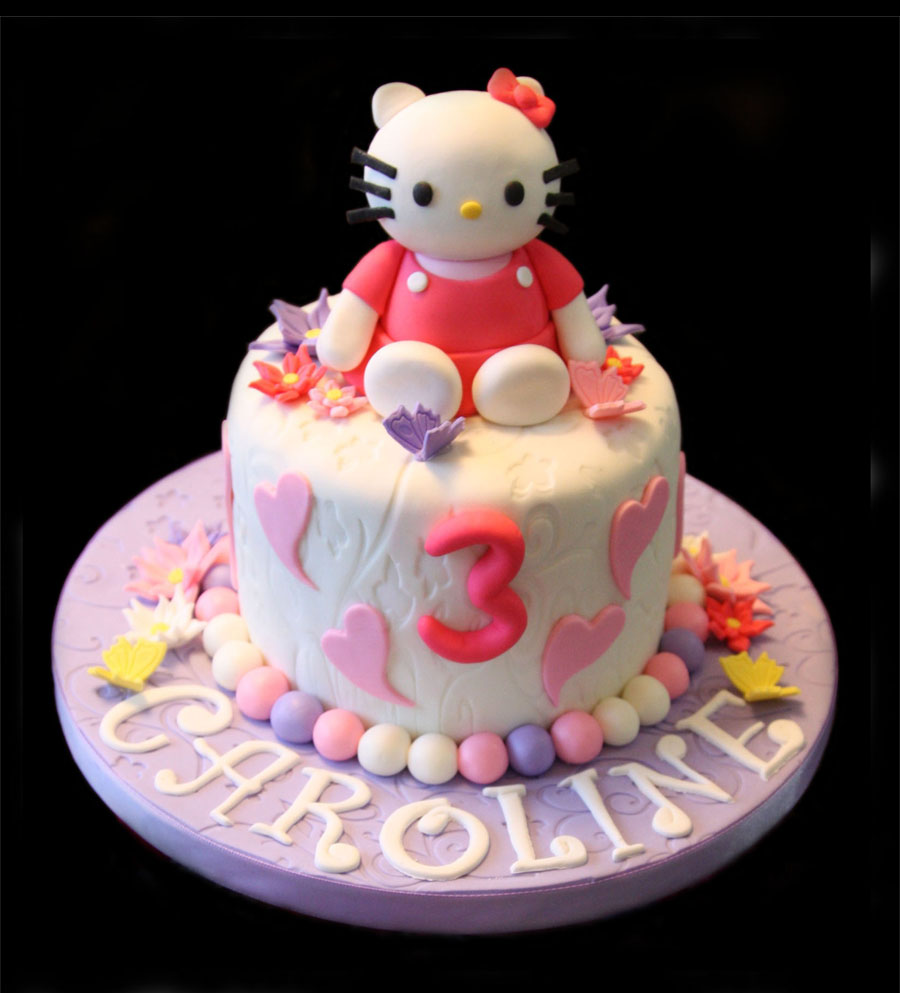 Pics of Hello Kitty Cakes