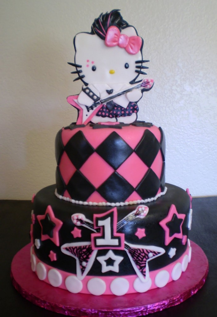 Picture of Hello Kitty Cake