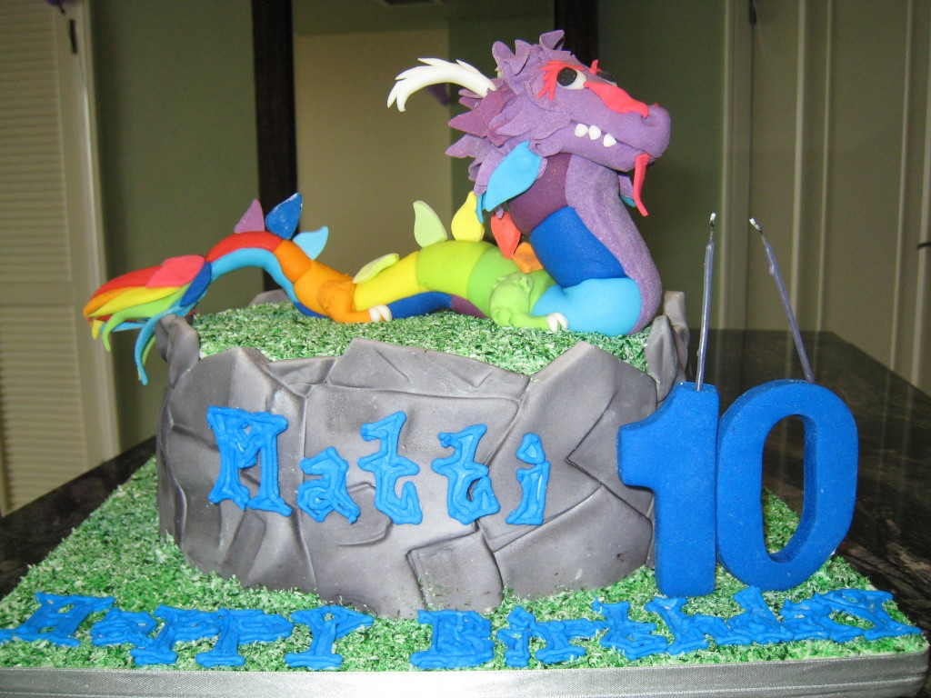 Pictures of Dragon Cakes