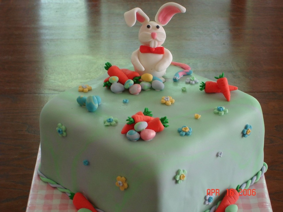 Pictures of Easter Bunny Cake