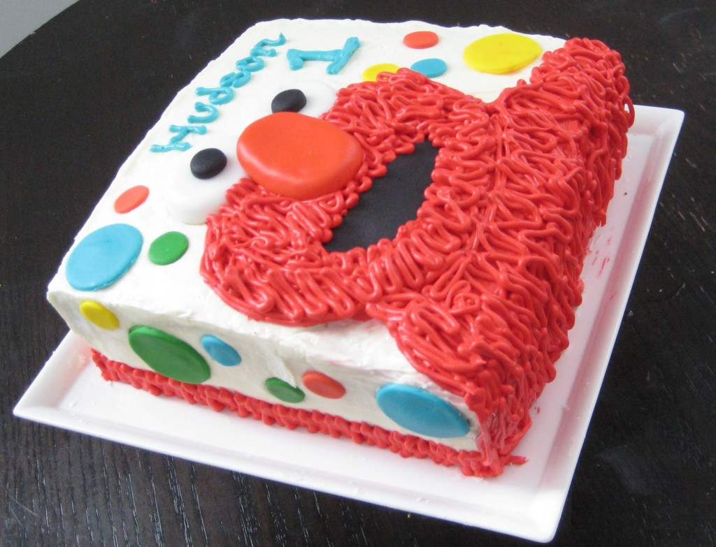 Pictures of Elmo Birthday Cakes