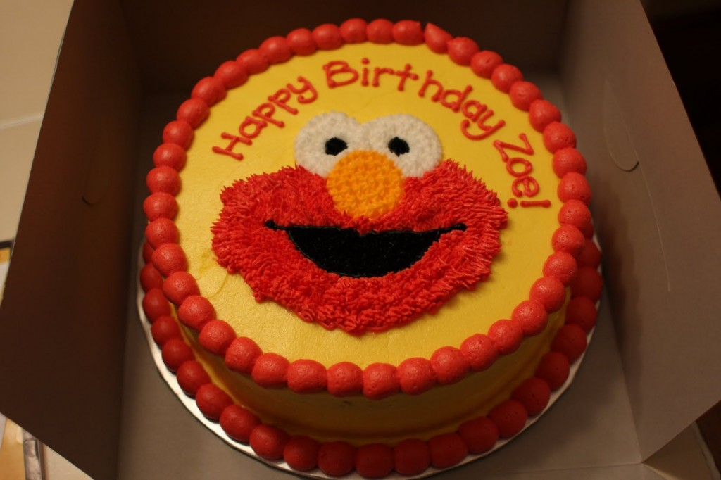 Pictures of Elmo Cakes
