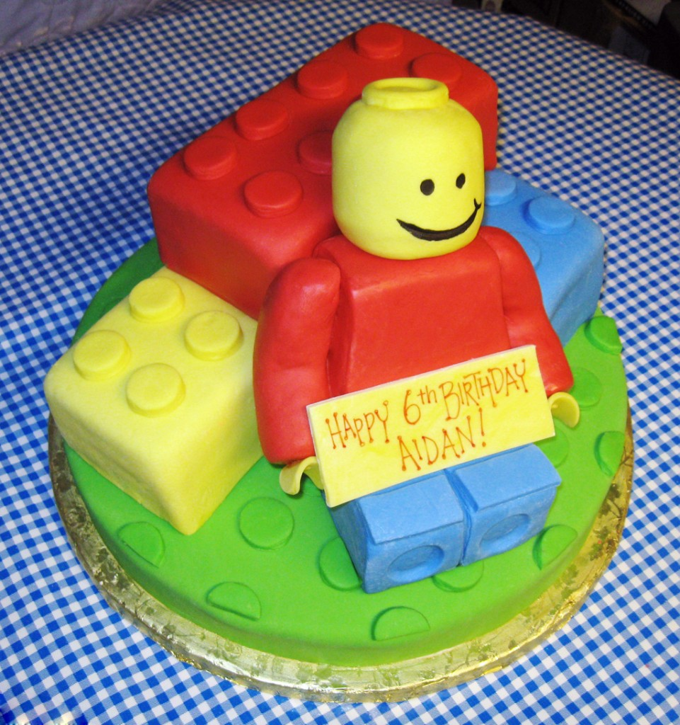 Pictures of Lego Cakes