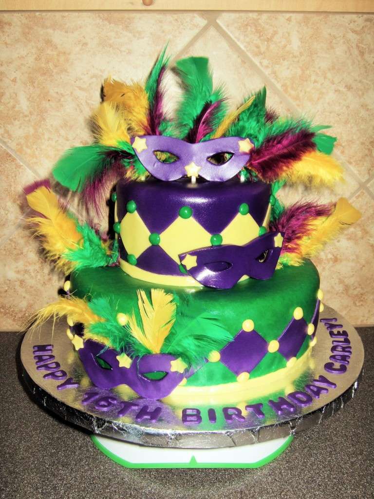 Pictures of Mardi Gras Cakes