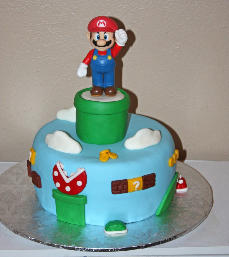Pictures of Mario Cakes