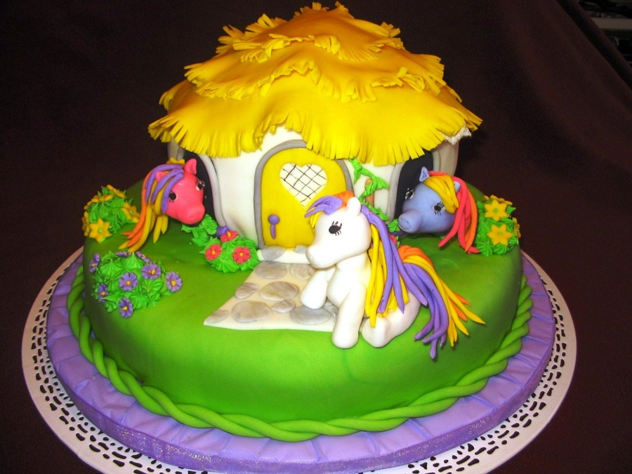 Pictures of My Little Pony Cakes
