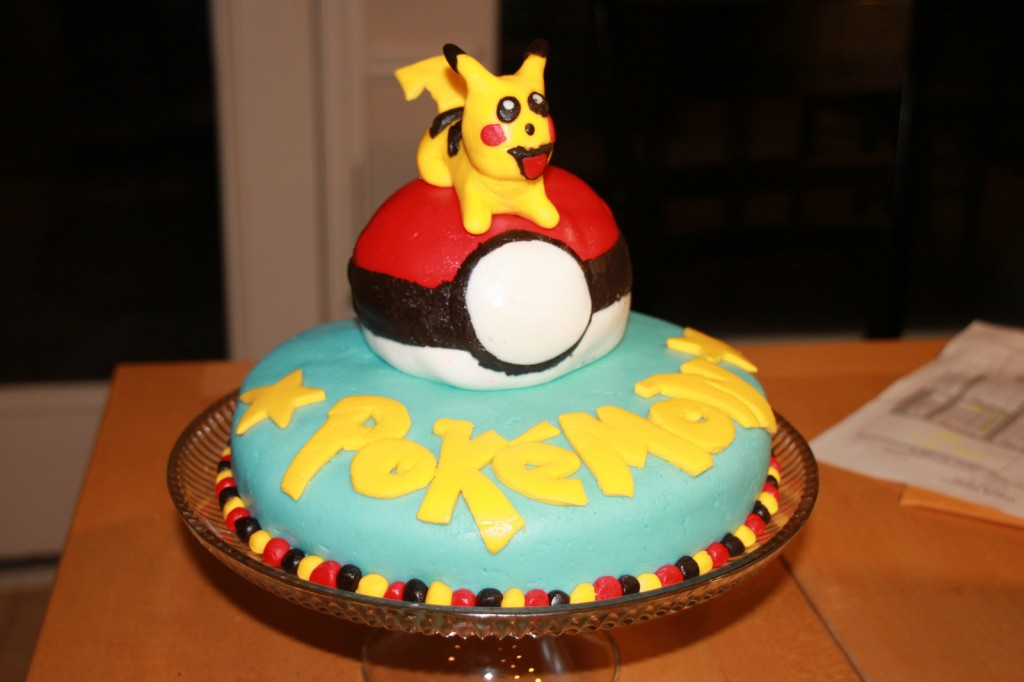 Pictures of Pokemon Cakes