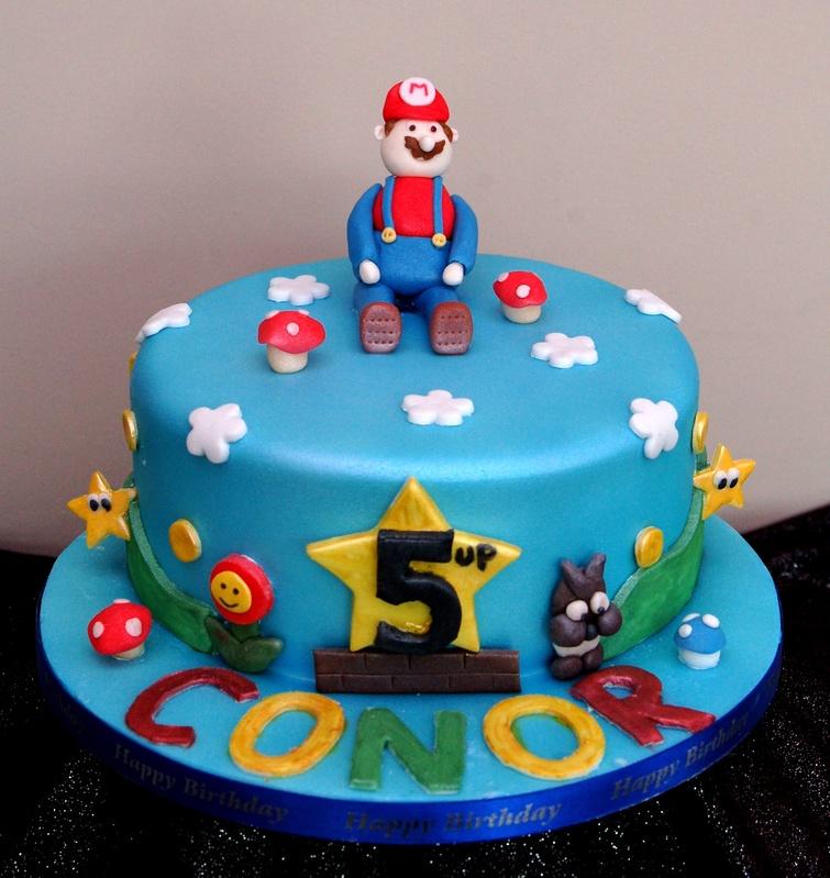 Pictures of Super Mario Cakes