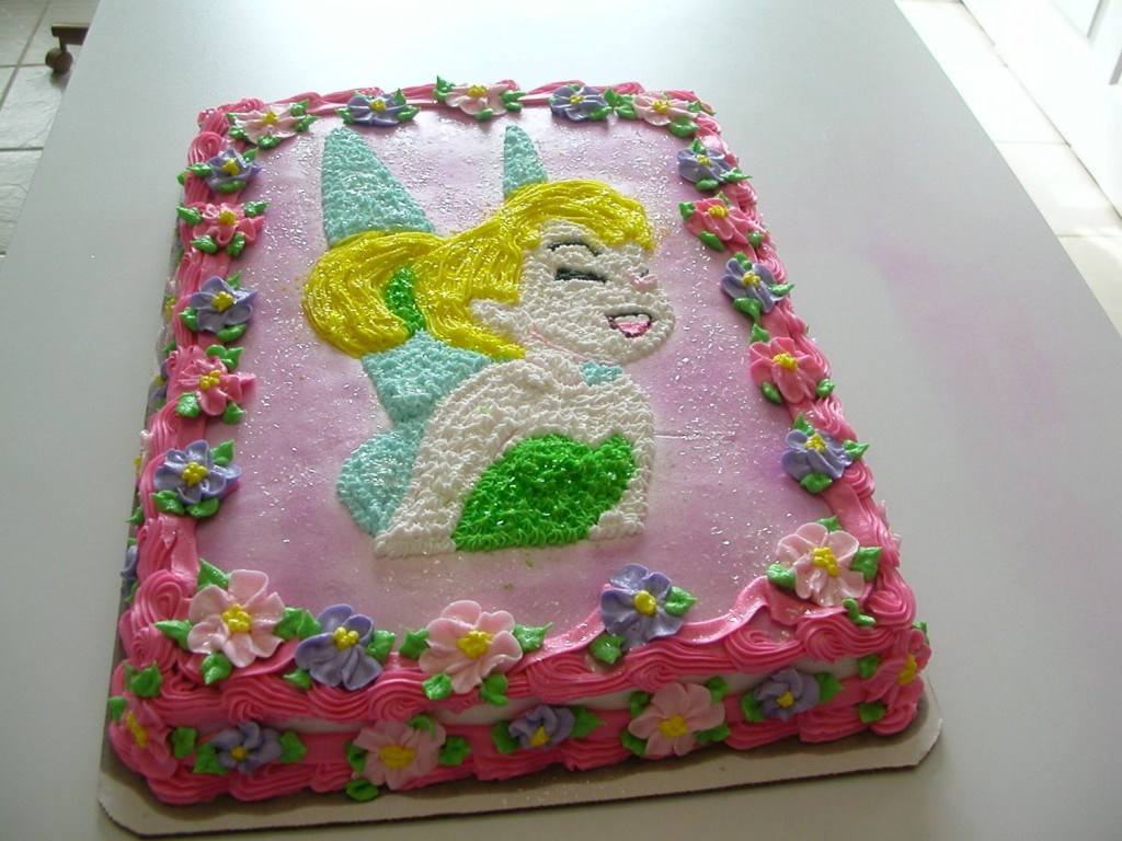 Pictures of Tinkerbell Cakes