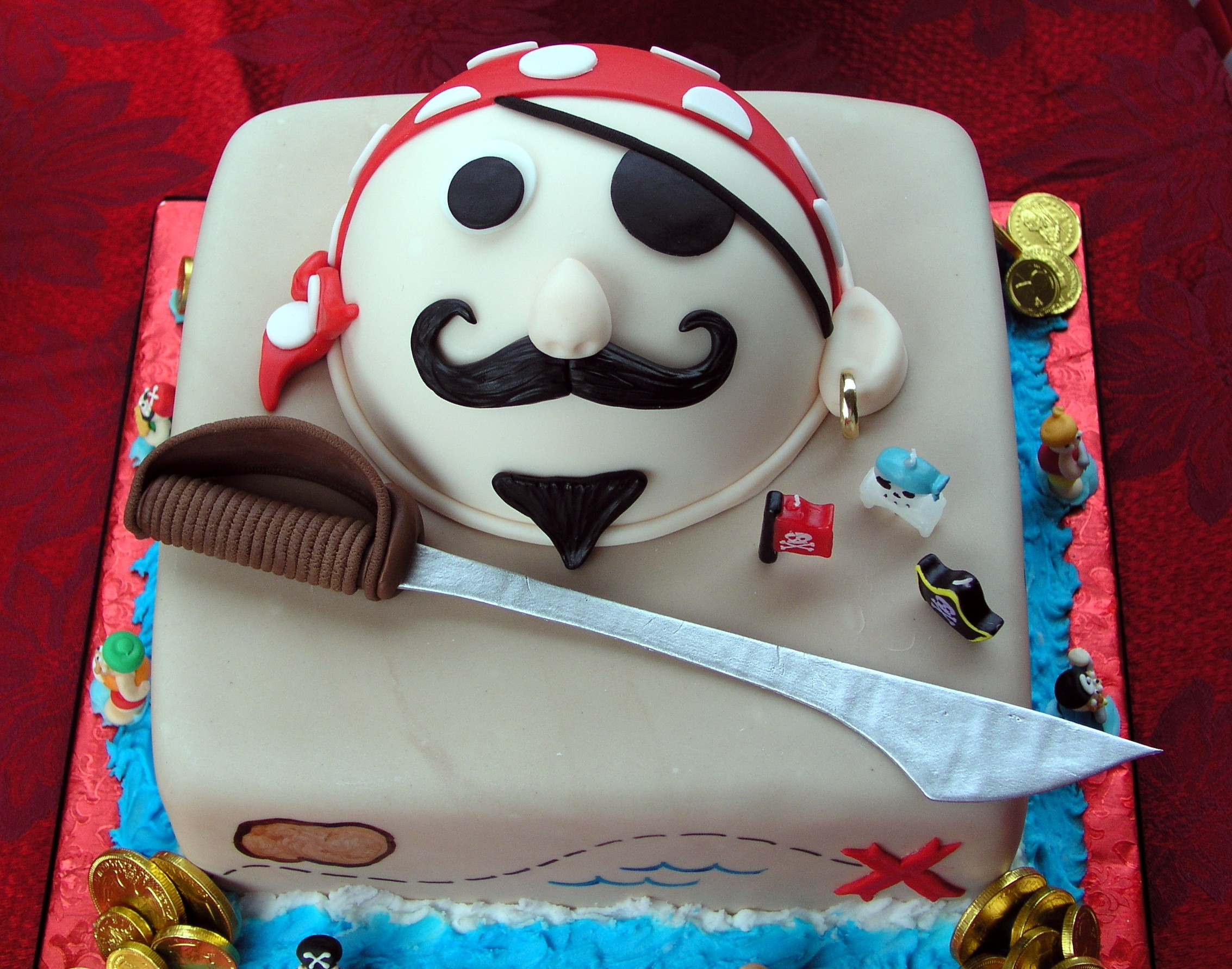 Pirate Birthday Cakes For Kids