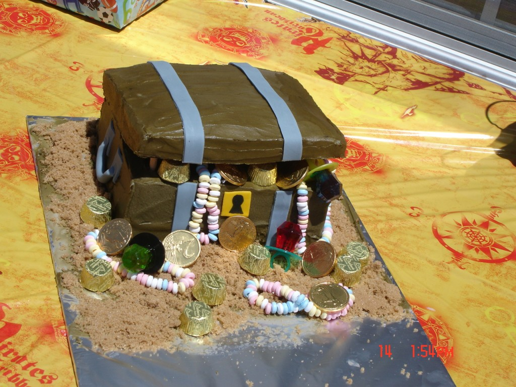 Pirate Cake Ideas