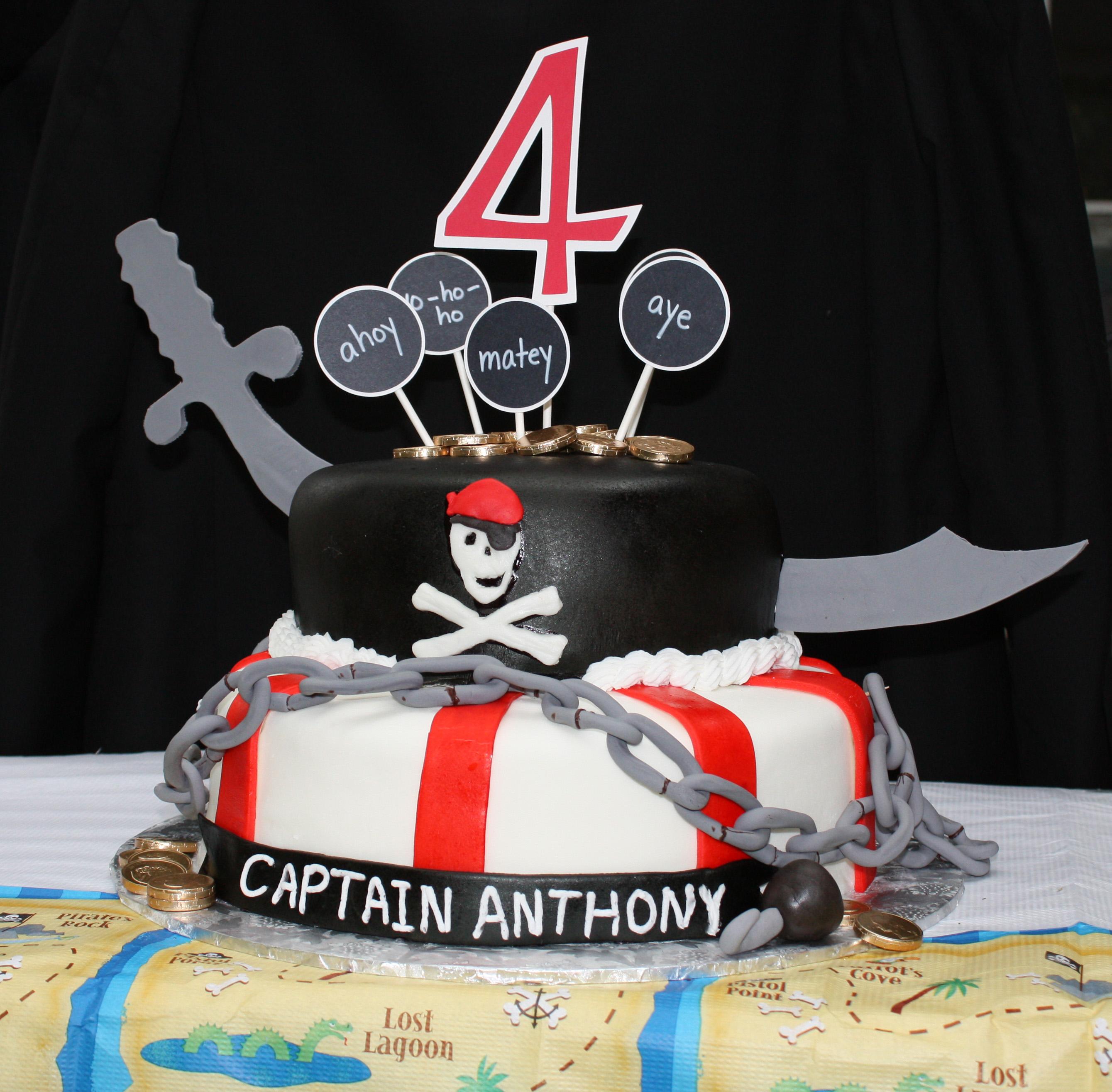 Pirate Cakes Decoration Ideas Little Birthday Cakes