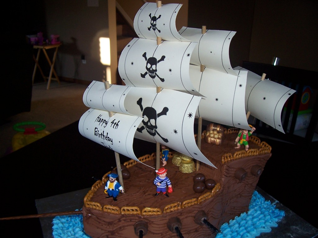 Pirate Ship Cake Recipe