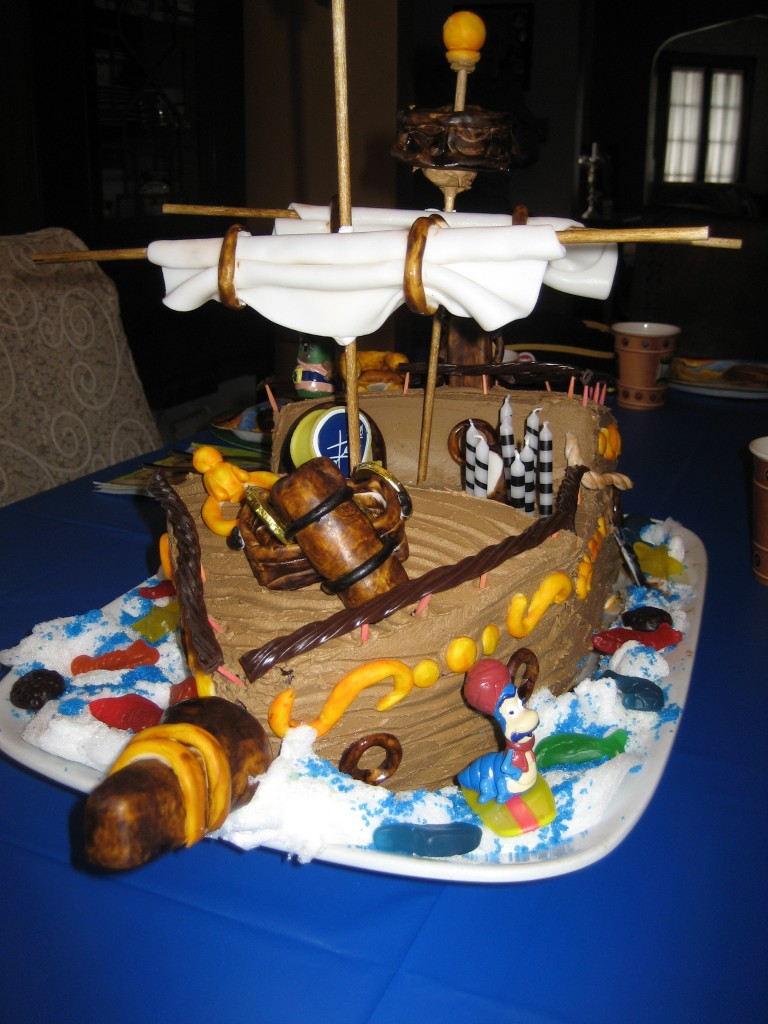 Pirate Ship Cakes For Kids