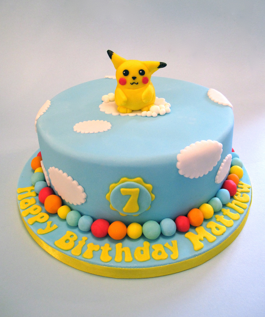 Pokemon Cake Designs