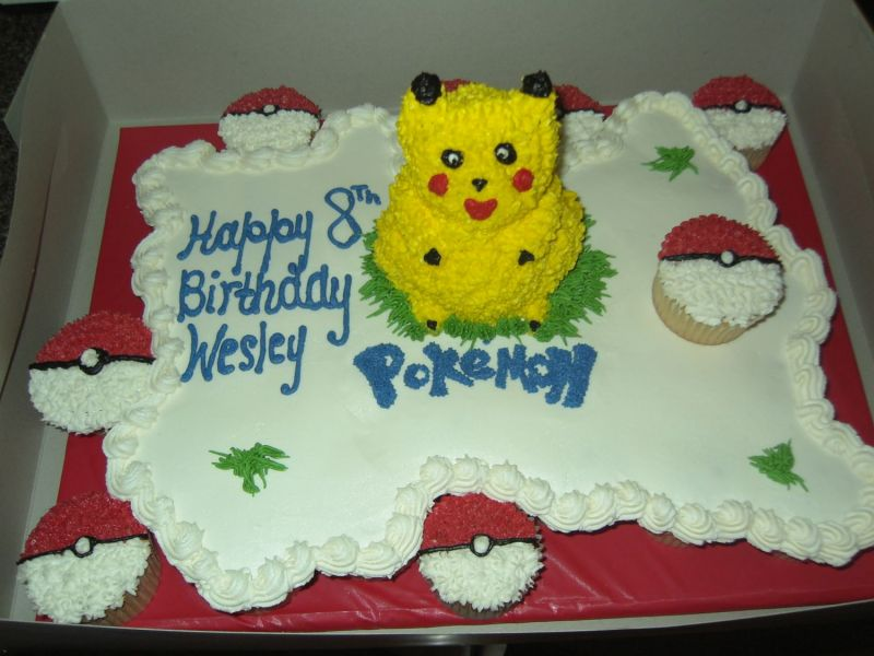 Pokemon Cake Pictures