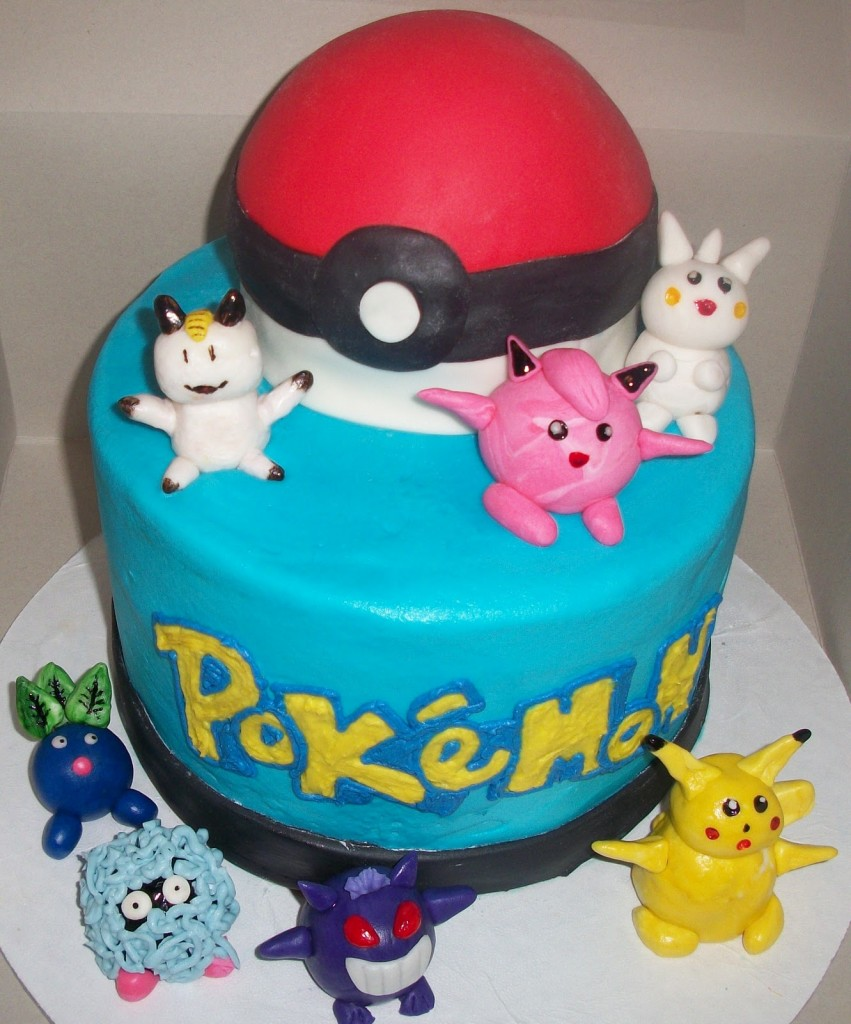 Pokemon Cakes Pictures