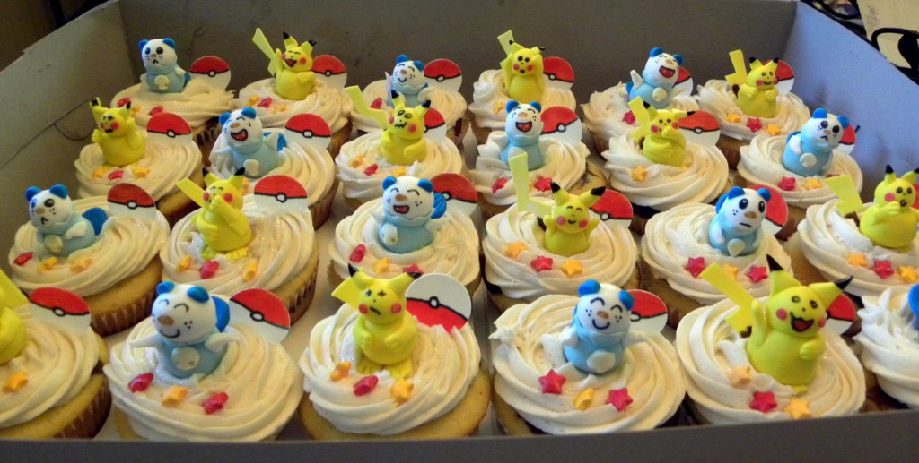 Pokemon Cup Cakes
