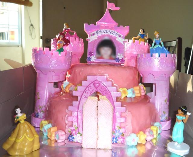 Princess Castle Birthday Cakes