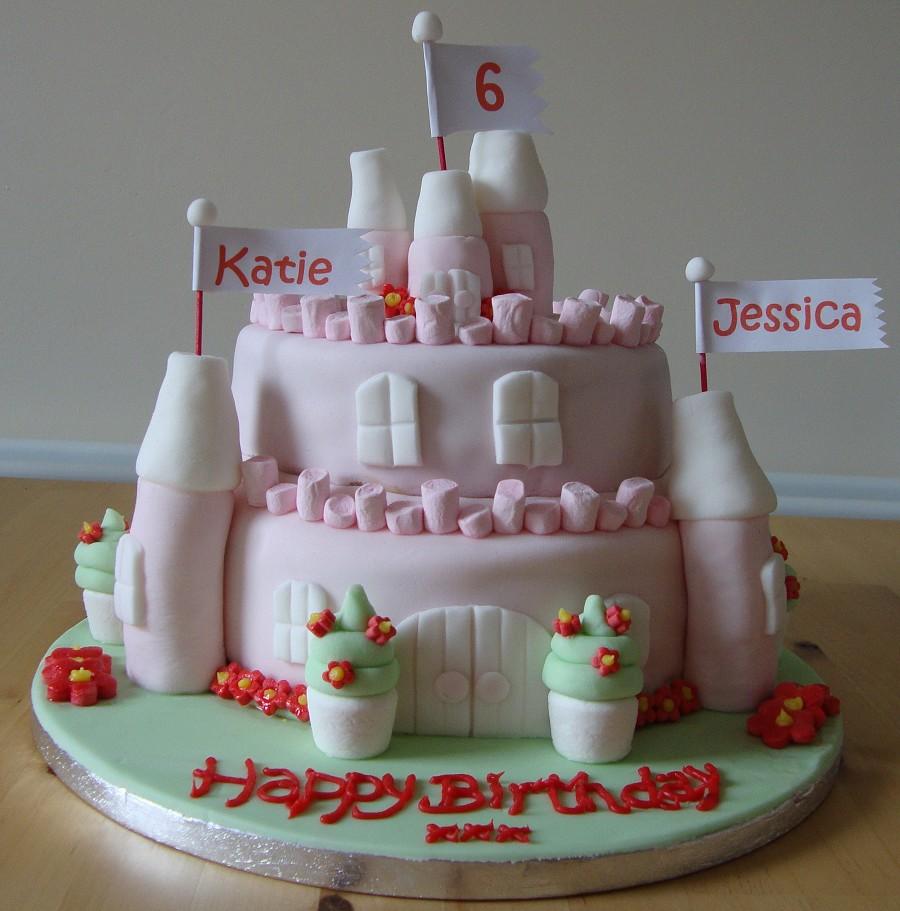 Princess Castle Cake Pictures