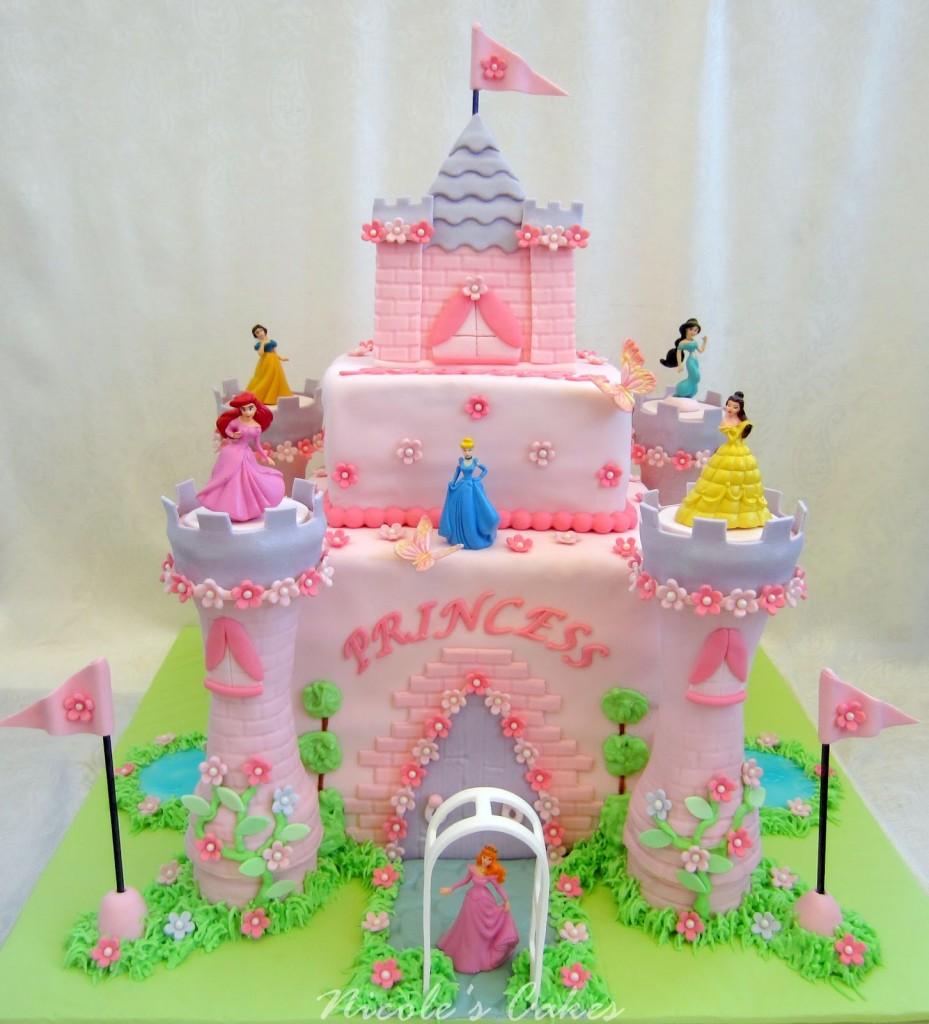 Princess Castle Cakes