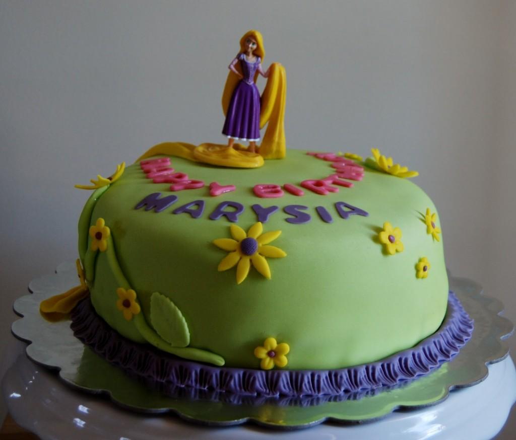 Rapunzel Cake Images