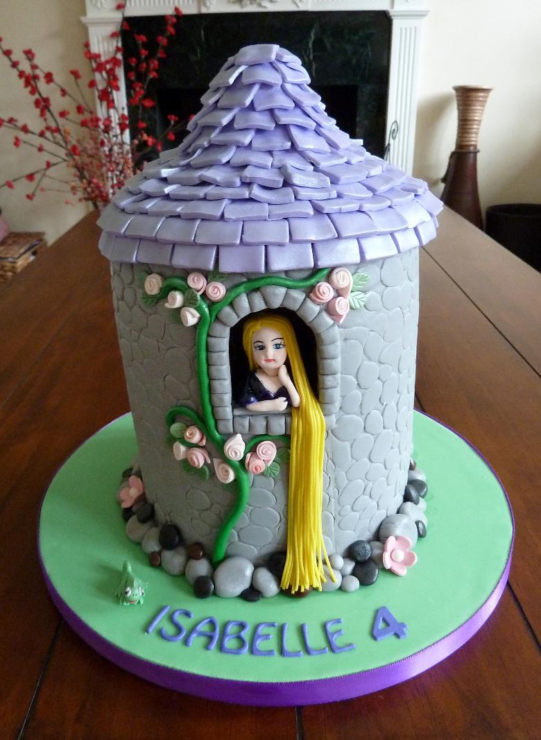 Rapunzel Cakes Decoration Ideas Little Birthday Cakes