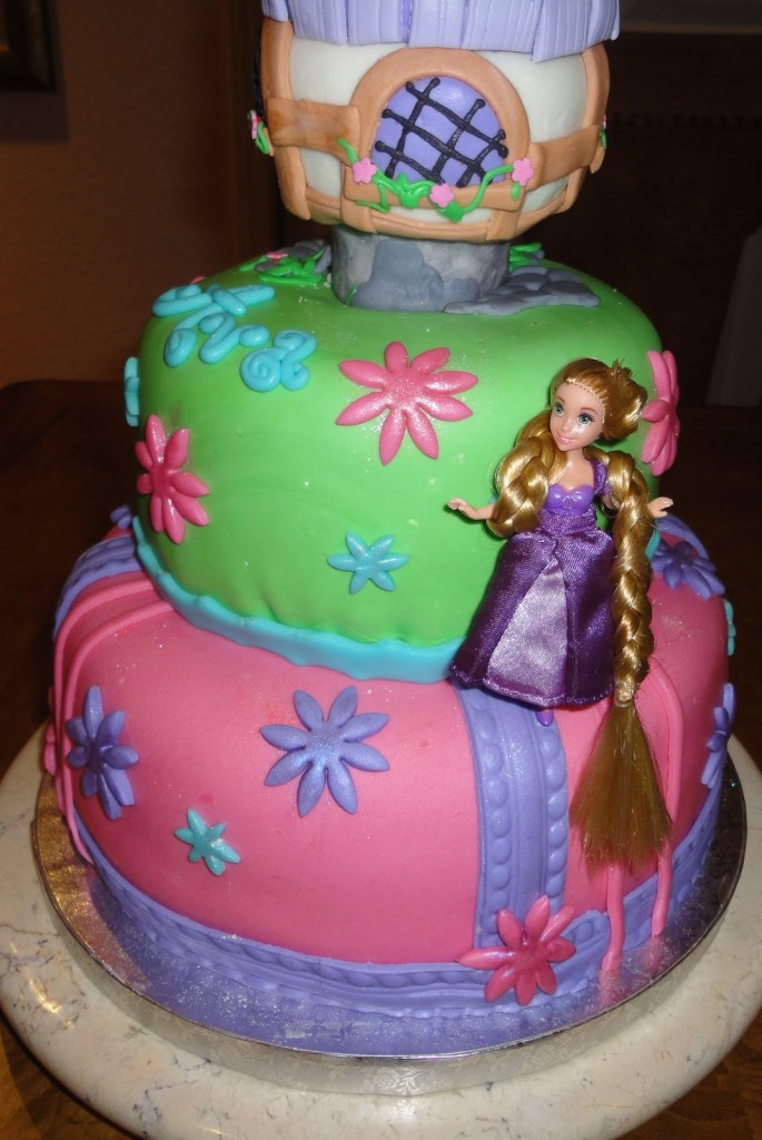 Rapunzel Cake Photos